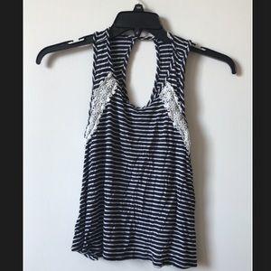 Stripe |Dark Blue| Ginger G